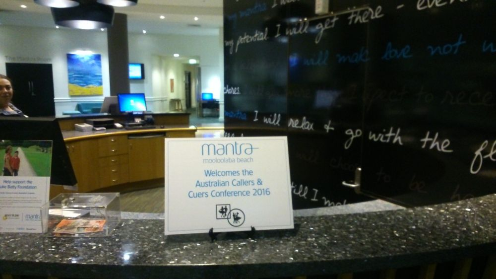 Mantra - our home for the Conference